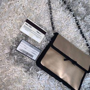 PRADA small satin purse chain bag clutch SALE❤️